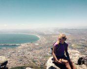 Tashia Davis participated in an advertising internship in Cape Town, South Africa through IE3 Global Internships