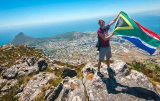 Dan Brower, Marketing intern in Cape Town