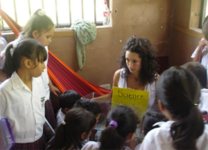 She taught 2nd grade in Honduras after graduating from college.