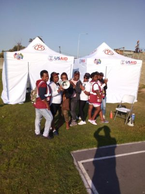 Public health internship in South Africa - internship fieldwork